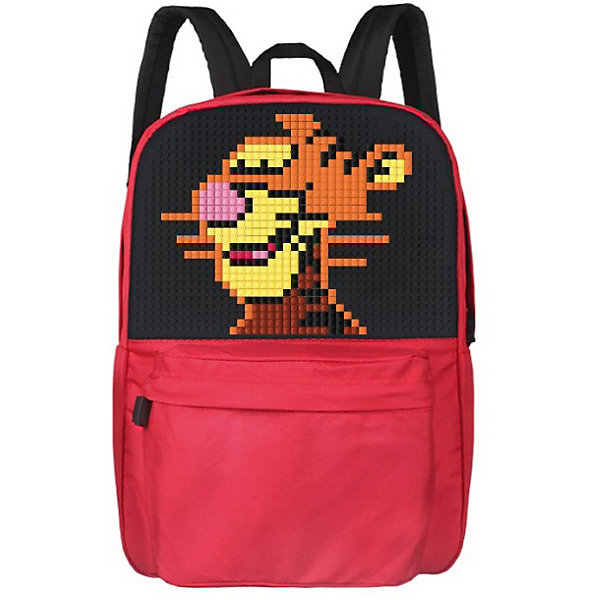 Школьный рюкзак Upixel «Classic school pixel backpack», красныйРюкзаки<br>Характеристики:<br><br>• возраст: от 6 лет;<br>• цвет: красный;<br>• материал: полиэстер, силикон;<br>• вид застежки: молния;<br>• особенности: анатомические лямки, водоотталкивающая пропитка, воздухопроницаемая спинка;<br>• комплект: 120 пикселей, 7х7 мм;<br>• количество внутренних отделений: 2;<br>• габариты рюкзака: 22х36х43 см;<br>• вес рюкзака: 700 гр.;<br>• страна бренда: Китай.<br><br>Школьный рюкзак Upixel «Classic school pixel backpack» (Юпиксел Классик Скоол Пиксель Бакпак) адаптирован для школы и для повседневного ношения. При создании рисунка можно воспользоваться идеями из буклета или сделать собственную композицию. Поле для крепления пикселей состоит из 1274 точек крепления: ряд из 43, линия из 30.<br><br>Для  воплощения  своих  фантазий  можно  докупать  пиксельные  фишки  размера  7х7 мм  или  готовые  наборы  картинок  с  фишками аналогичного  размера.<br><br>Школьный рюкзак Upixel «Classic school pixel backpack» (Юпиксел Классик Скоол Пиксель Бакпак), красный можно приобрести в нашем интернет-магазине.<br>Ширина мм: 220; Глубина мм: 360; Высота мм: 430; Вес г: 700; Цвет: красный; Возраст от месяцев: 60; Возраст до месяцев: 2147483647; Пол: Унисекс; Возраст: Детский; SKU: 8291192;