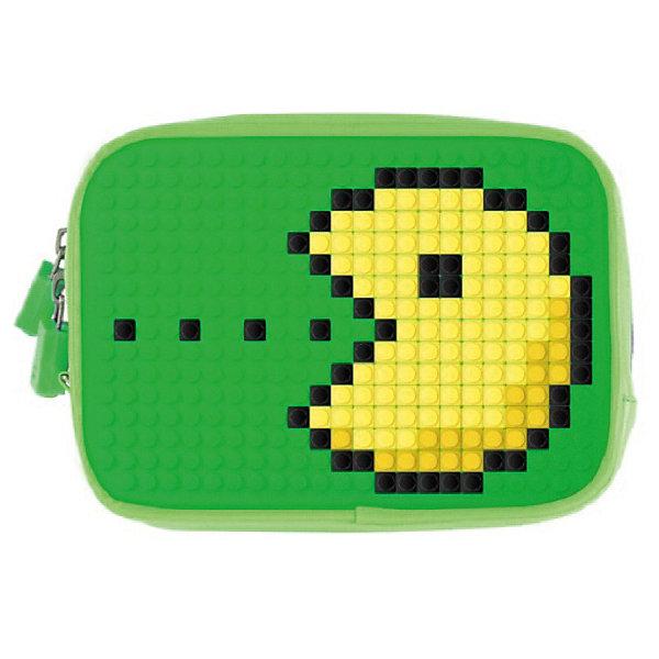 Ручная сумка Пенал Upixel «Canvas Handbag», зеленыйДетские сумки<br>Характеристики:<br><br>? возраст: от 5 лет;<br>? тип: сумка;<br>? материал: 100% неопрен (синтетический каучук);<br>? подкладка: 100% полиэстер;<br>? панель: 100% силикон;<br>? цвет: зеленый;<br>? в комплекте: буклет с возможными изображениями;<br>? пиксели: 120 шт. 7х7 мм;<br>? поверхность: 23 рядов, 16 линий;<br>? количество точек: 360;<br>? размер товара: 4,5х17х12 см;<br>? упаковка: пакет;<br>? вес упаковки: 250 г;<br>? страна бренда: Китай.<br><br>Ручная сумка Пенал Upixel «Canvas Handbag» (Юпиксел) изготовлена из высококачественного и влагостойкого материала. В комплекте 120 пикселей разных цветов, инструкция для создания рисунка. Для  воплощения  своих  фантазий  можно  докупать  пиксельные  фишки  размера  7х7 мм  или  готовые  наборы  картинок  с  фишками аналогичного  размера. <br><br>С пиксельной сумкой-Пенал можно создавать уникальные образы и менять дизайн сумки благодаря маленьким фишкам (пикселям).<br><br>Сумка-Пенал с одним отделением, внутри два кармашка - один на молнии, второй на липучке, съемная силиконовая ручка для крепления на руку. <br><br>Ручная сумка Пенал Upixel «Canvas Handbag» (Юпиксел), зеленый можно купить в нашем интернет-магазине.<br>Ширина мм: 45; Глубина мм: 170; Высота мм: 120; Вес г: 250; Цвет: темно-зеленый; Возраст от месяцев: 60; Возраст до месяцев: 2147483647; Пол: Женский; Возраст: Детский; SKU: 8291230;