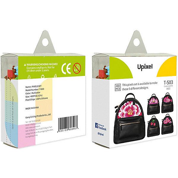 Upixel Комплект пикселей собери любую из 5 картинок Upixel, 480 шт