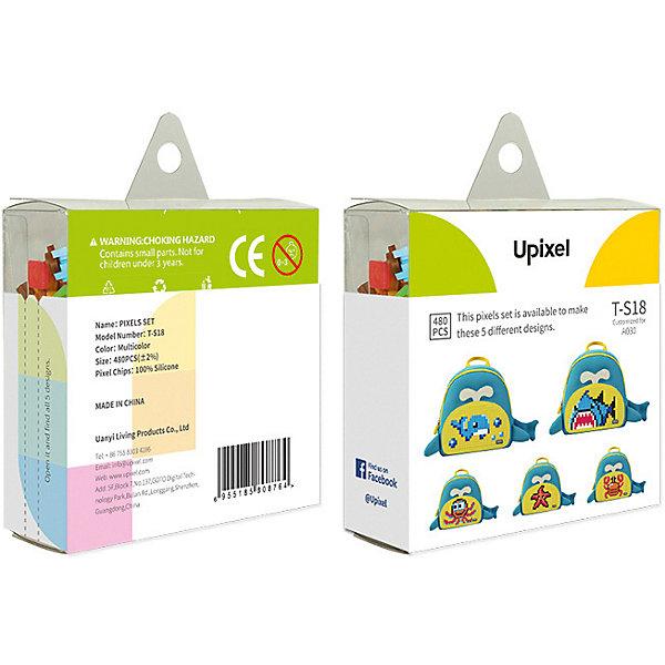 Upixel Комплект пикселей собери любую из 5 картинок Upixel, 480 шт ландшафтное освещение starlight rgb 1 5 stc 480 1 5 rgbc