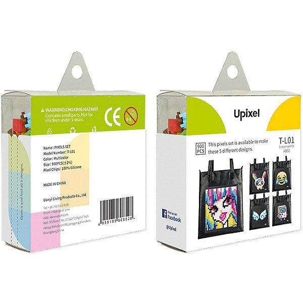 Комплект пикселей собери любую из 5 картинок Upixel, 900 шт.Аксессуары для ранцев и рюкзаков<br>Характеристики:<br><br>• возраст: от 5 лет;<br>• материал: силикон;<br>• комплект: 900 деталей  7х7 мм, буклет с возможными вариантами изображений;<br>• размер изделия: 3х8,6х8,6 см;<br>• вес комплекта: 125 гр;<br>• страна бренда: Китай.<br><br>Комплект больших пикселей собери любую из 5 картинок Upixel состоит из подобранных картинок, это отличное решение на первое время при знакомстве с пиксельным творчеством.<br><br>Комплект пикселей собери любую из 5 картинок Upixel, 900 шт. можно приобрести в нашем интернет-магазине.<br>Ширина мм: 30; Глубина мм: 86; Высота мм: 86; Вес г: 125; Цвет: разноцветный; Возраст от месяцев: 60; Возраст до месяцев: 2147483647; Пол: Унисекс; Возраст: Детский; SKU: 8291244;