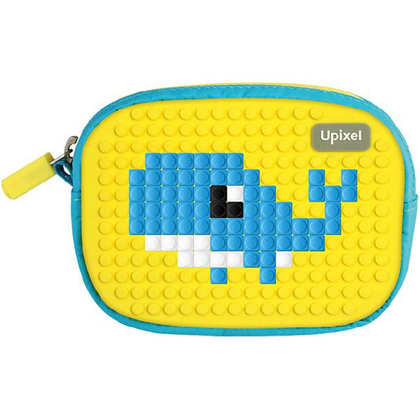 Маленькая пиксельная сумочка Upixel «Lucky Star», синий-желтыйДетские сумки<br>Характеристики:<br><br>• возраст: от 3 лет;<br>• цвет: синий-желтый;<br>• материал: полиэстер, силикон;<br>• вид застежки: молния;<br>• комплект: 80 пикселей 7х7 мм, буклет с возможными вариантами изображений;<br>• размер изделия: 3х13х10 см;<br>• упаковка: пакет;<br>• вес сумки: 80 гр.;<br>• страна бренда: Китай.<br><br>Маленькая пиксельная сумочка Upixel «Lucky Star» (Юпиксел Лаки стар) выполнена с единым отделением на молнии с брендированной застёжкой и внешним карабином из металла, с дополнительным скрытым отделением на молнии. Поле для крепления пикселей состоит из 230 точек крепления: ряд из 18, линия из 13.<br><br>Для  воплощения  своих  фантазий  можно  докупать  пиксельные  фишки  размера  7х7 мм  или  готовые  наборы  картинок  с  фишками аналогичного  размера.<br><br>Маленькая пиксельная сумочка Upixel «Lucky Star» (Юпиксел Лаки стар), синий-желтый можно приобрести в нашем интернет-магазине.<br>Ширина мм: 30; Глубина мм: 130; Высота мм: 100; Вес г: 80; Цвет: желтый; Возраст от месяцев: 60; Возраст до месяцев: 2147483647; Пол: Унисекс; Возраст: Детский; SKU: 8291246;