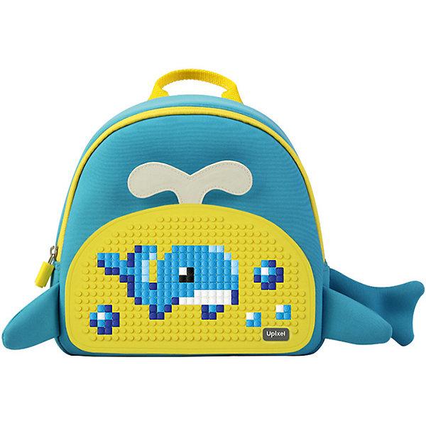 Рюкзак детский Китёнок Upixel, синий-желтыйДетские рюкзаки<br>Характеристики:<br><br>? возраст: от 5 лет;<br>? тип: рюкзак;<br>? материал: 100% неопрен (синтетический каучук);<br>? подкладка: 100% полиэстер;<br>? панель: 100% силикон;<br>? цвет: синий, желтый;<br>? в комплекте: буклет с возможными изображениями;<br>? пиксели: 120 шт 7х7 мм;<br>? поверхность: 31 рядов, 17 линий;<br>? количество точек: 512;<br>? размер товара: 10х25,5х25 см;<br>? упаковка: пакет;<br>? вес упаковки: 600 г;<br>? страна бренда: Китай.<br><br>Рюкзак детский Китёнок Upixel (Юпиксел), обладающий силиконовой панелью, на которой с помощью «пикселей» в виде мозаики возможно выложить любой рисунок.<br><br>Представленный товар сертифицирован и создан из экологически чистых материалов. Качество же материала с его водонепроницаемым свойством позволит сохранить в целости учебники при влажной, снежной погоде.<br><br>Рюкзак оснащен тканевыми вшитыми вставками для декорирования, отделением с удлиненной молнией. Присутствует прямая спинка с дышащей поверхностью. Толстые лямки защищают от натирания. Внутри рюкзака находится дополнительная подкладка, а также у рюкзака имеется прочная пластмассовая фурнитура. <br><br>Для  воплощения  своих  фантазий  можно  докупать  пиксельные  фишки  размера  7х7 мм  или  готовые  наборы  картинок  с  фишками аналогичного  размера. <br><br>Рюкзак детский Китёнок Upixel (Юпиксел), синий-желтый можно купить в нашем интернет-магазине.<br>Ширина мм: 100; Глубина мм: 255; Высота мм: 250; Вес г: 600; Цвет: желтый; Возраст от месяцев: 60; Возраст до месяцев: 2147483647; Пол: Унисекс; Возраст: Детский; SKU: 8291252;