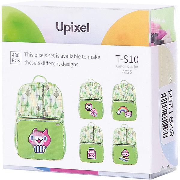Комплект пикселей собери любую из 5 картинок Upixel, 480 штАксессуары для ранцев и рюкзаков<br>Характеристики:<br><br>• возраст: от 3 лет;<br>• материал: силикон;<br>• количество деталей: 480 шт. 7х7 мм, буклет с возможными вариантами изображений;<br>• размер изделия: 3х8,6х8,6 см;<br>• вес комплекта: 65 гр;<br>• страна бренда: Китай.<br><br>Комплект пикселей собери любую из 5 картинок Upixel состоит из подобранных картинок, это отличное решение на первое время при знакомстве с пиксельным творчеством.<br><br>Комплект пикселей собери любую из 5 картинок Upixel, 480 шт. можно приобрести в нашем интернет-магазине.<br>Ширина мм: 30; Глубина мм: 86; Высота мм: 86; Вес г: 65; Цвет: разноцветный; Возраст от месяцев: 60; Возраст до месяцев: 2147483647; Пол: Унисекс; Возраст: Детский; SKU: 8291254;