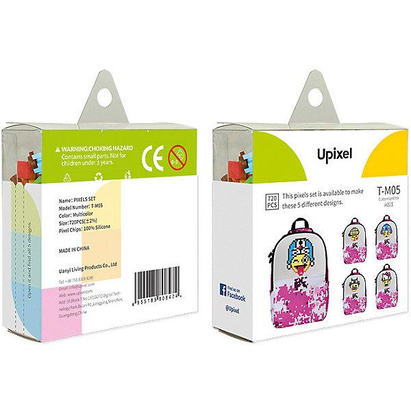 Upixel Комплект больших пикселей собери любую из 5 картинок Upixel, 720 шт