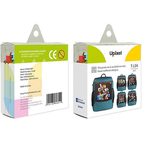 Комплект пикселей собери любую из 5 картинок Upixel, 900 шт.Аксессуары для ранцев и рюкзаков<br>Характеристики:<br><br>• возраст: от 5 лет;<br>• материал: силикон;<br>• комплект: 900 деталей 7х7 мм, буклет с возможными вариантами изображений;<br>• размер изделия: 3х8,6х8,6 см;<br>• вес комплекта: 125 гр;<br>• страна бренда: Китай.<br><br>Комплект больших пикселей собери любую из 5 картинок Upixel состоит из подобранных картинок, это отличное решение на первое время при знакомстве с пиксельным творчеством.<br><br>Комплект пикселей собери любую из 5 картинок Upixel, 900 шт. можно приобрести в нашем интернет-магазине.<br>Ширина мм: 30; Глубина мм: 86; Высота мм: 86; Вес г: 125; Цвет: разноцветный; Возраст от месяцев: 60; Возраст до месяцев: 2147483647; Пол: Унисекс; Возраст: Детский; SKU: 8291266;