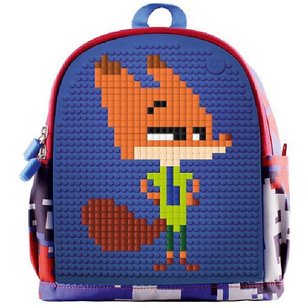 Купить Детский рюкзак с боковыми карманами Dream High Kids Daysack WY-A012-A Синий, Upixel, Китай, синий, Мужской