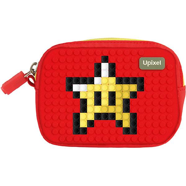 Маленькая пиксельная сумочка Upixel «Lucky Star», красныйДетские сумки<br>Характеристики:<br><br>• возраст: от 3 лет;<br>• цвет: красный;<br>• материал: полиэстер, силикон;<br>• вид застежки: молния;<br>• комплект: 80 пикселей 7х7 мм, буклет с возможными вариантами изображений;<br>• размер изделия: 3х13х10 см;<br>• упаковка: пакет;<br>• вес сумки: 80 гр.;<br>• страна бренда: Китай.<br><br>Маленькая пиксельная сумочка Upixel «Lucky Star» (Юпиксел Лаки стар) выполнена с единым отделением на молнии с брендированной застёжкой и внешним карабином из металла, с дополнительным скрытым отделением на молнии. Маленькие пиксели (фишки) разноцветные, 80 шт. Фирменный буклет с возможными вариантами изображений. Поле для крепления пикселей состоит из 230 точек крепления: ряд из 18, линия из 13.<br><br>Для  воплощения  своих  фантазий  можно  докупать  пиксельные  фишки  размера  7х7 мм  или  готовые  наборы  картинок  с  фишками аналогичного  размера.<br><br>Маленькая пиксельная сумочка Upixel «Lucky Star» (Юпиксел Лаки стар), красный можно приобрести в нашем интернет-магазине.<br>Ширина мм: 30; Глубина мм: 130; Высота мм: 100; Вес г: 80; Цвет: красный; Возраст от месяцев: 60; Возраст до месяцев: 2147483647; Пол: Унисекс; Возраст: Детский; SKU: 8291276;