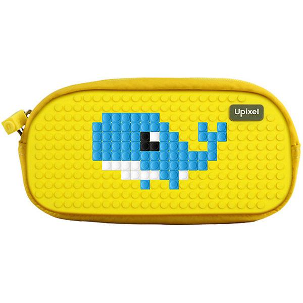 Жесткий пенал Upixel «Dreamer pencil case», желтыйПеналы без наполнения<br>Характеристики:<br><br>• возраст: от 3 лет;<br>• цвет: желтый;<br>• материал: полиэстер, силикон;<br>• комплект: 80 пикселей 7х7 мм, буклет с возможными вариантами изображений;<br>• вид застежки: молния;<br>• размер изделия: 5,5х19х5,5 см;<br>• упаковка: прозрачная пластиковая коробка;<br>• вес пенала: 18 гр.;<br>• страна производитель: Китай.<br><br>Пенал школьный пиксельный Upixel «Dreamer pencil case» (Юпиксел Дримар Ренсал Касе) можно украшать пиксельными рисунками по своему желанию хоть каждый день, точно никто не оставит без внимания. Поле для крепления пикселей состоит из 320 точек крепления: ряд из 26, линия из 12.<br><br>Одно основное отделение с жесткими стенками обеспечивает много места для хранения самых разных школьных принадлежностей. Крышка пенала, обеспечивающая свободный доступ к содержимому, имеет удобно открывающуюся молнию с силиконовым антискользящим пуллером. Внутри дополнительный откидной клапан с резинками-держателями для пишущих принадлежностей и кармашком на молнии.<br><br>Для  воплощения  своих  фантазий  можно  докупать  пиксельные  фишки  размера  7х7 мм  или  готовые  наборы  картинок  с  фишками аналогичного  размера.<br><br>Пенал школьный пиксельный Upixel «Dreamer pencil case» (Юпиксел Дримар Ренсал Касе), желтый можно приобрести в нашем интернет-магазине.<br>Ширина мм: 55; Глубина мм: 190; Высота мм: 80; Вес г: 180; Цвет: желтый; Возраст от месяцев: 60; Возраст до месяцев: 2147483647; Пол: Унисекс; Возраст: Детский; SKU: 8291312;
