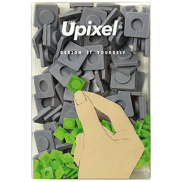 Пиксели большие Upixel, сетло серыйАксессуары для ранцев и рюкзаков<br>Характеристики:<br><br>• возраст: от 3 лет;<br>• цвет: светло серый;<br>• материал: силикон;<br>• комплект: 60 пикселей 13х13 мм, <br>• размер изделия: 10х7х2 см;<br>• упаковка: пакет;<br>• вес набора: 20 гр;<br>• страна бренда: Китай.<br><br>Пиксели большие Upixel - главная составляющая в пиксельном творчестве, это специальные фишки, с помощью которых создаются целые полотна из ваших креативных идей. Каждый квадратик это важный элемент вашего силиконового холста на рюкзаке, сумке, чехле, кошельке или Пенале.<br><br>Пиксели большие Upixel, светло серый можно приобрести в нашем интернет-магазине.<br>Ширина мм: 100; Глубина мм: 70; Высота мм: 20; Вес г: 20; Цвет: серый; Возраст от месяцев: 60; Возраст до месяцев: 2147483647; Пол: Унисекс; Возраст: Детский; SKU: 8291318;