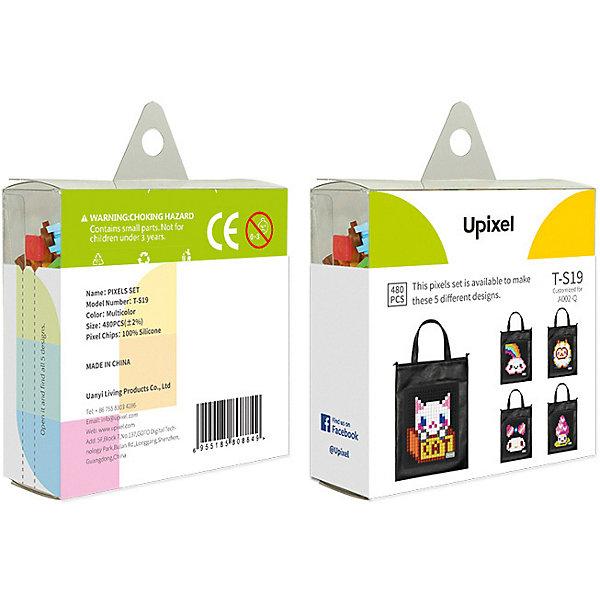 Комплект пикселей собери любую из 5 картинок Upixel, 480 штАксессуары для ранцев и рюкзаков<br>Характеристики:<br><br>• возраст: от 3 лет;<br>• материал: силикон;<br>• количество деталей: 480 шт. 7х7 мм, буклет с возможными вариантами изображений;<br>• размер изделия: 3х8,6х8,6 см;<br>• вес комплекта: 65 гр;<br>• страна бренда: Китай.<br><br>Комплект пикселей собери любую из 5 картинок Upixel состоит из подобранных картинок, это отличное решение на первое время при знакомстве с пиксельным творчеством.<br><br>Комплект пикселей собери любую из 5 картинок Upixel, 480 шт. можно приобрести в нашем интернет-магазине.<br>Ширина мм: 30; Глубина мм: 86; Высота мм: 86; Вес г: 65; Цвет: разноцветный; Возраст от месяцев: 60; Возраст до месяцев: 2147483647; Пол: Унисекс; Возраст: Детский; SKU: 8291322;