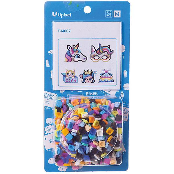 Комплект больших пикселей собери любую из 5 картинок Upixel, 720 штАксессуары для ранцев и рюкзаков<br>Характеристики:<br><br>• возраст: от 3 лет;<br>• материал: силикон;<br>• комплект: 720 деталей 7х7 мм, буклет с возможными вариантами изображений;<br>• размер изделия: 3х8,6х8,6 см;<br>• вес комплекта: 100 гр.;<br>• страна бренда: Китай.<br><br>Комплект больших пикселей собери любую из 5 картинок Upixel состоит из подобранных картинок, это отличное решение на первое время при знакомстве с пиксельным творчеством.<br><br>Комплект больших пикселей собери любую из 5 картинок Upixel, 720 шт. можно приобрести в нашем интернет-магазине.<br>Ширина мм: 30; Глубина мм: 86; Высота мм: 86; Вес г: 100; Цвет: разноцветный; Возраст от месяцев: 60; Возраст до месяцев: 2147483647; Пол: Унисекс; Возраст: Детский; SKU: 8291330;
