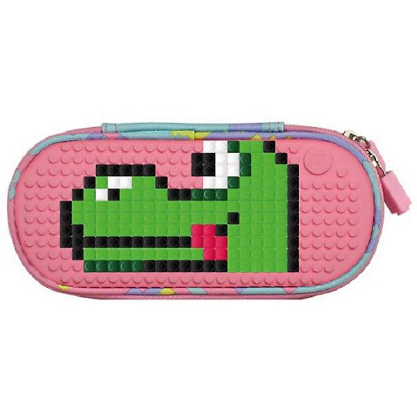 Жесткий пенал Upixel «Super class pencil case», розовый
