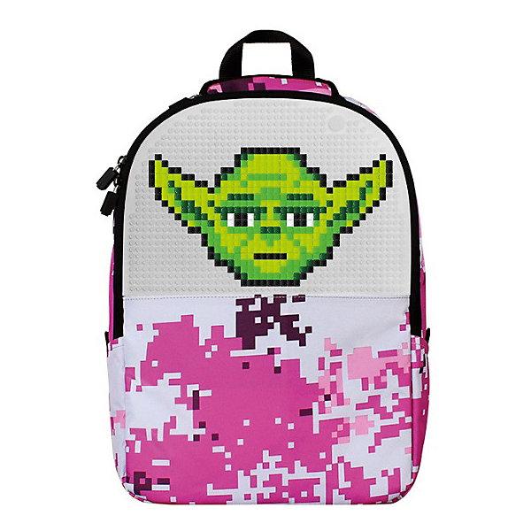Купить Рюкзак школьный Upixel «Camouflage Backpack», розовый, Китай, Женский