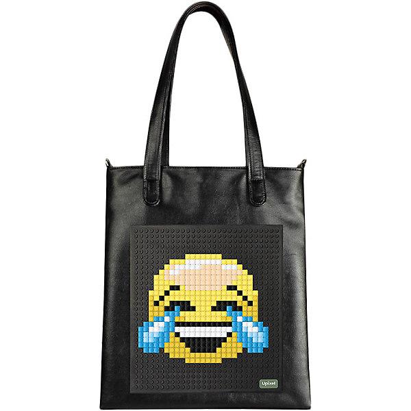 Прогулочная сумка на плечо Upixel, черныйДетские сумки<br>Характеристики:<br><br>? возраст: от 5 лет;<br>? тип: сумка;<br>? материал: 100% эко кожа;<br>? подкладка: 100% полиэстер;<br>? панель: 100% силикон;<br>? цвет: черный;<br>? в комплекте: буклет с возможными изображениями;<br>? пиксели: 120 шт. 7х7 мм;<br>? поверхность: 18 рядов, 31 линий;<br>? количество точек: 550;<br>? размер товара: 2х30х39 см;<br>? упаковка: пакет;<br>? вес упаковки: 500 г;<br>? страна бренда: Китай.<br><br>Прогулочная сумка на плечо Upixel (Юпиксел) изготовлена из высококачественного и влагостойкого материала. В комплекте 120 пикселей разных цветов, инструкция для создания рисунка.<br><br>С пиксельной сумкой можно создавать уникальные образы и менять дизайн сумки благодаря маленьким фишкам (пикселям).<br><br>Пиксельная сумка застегивается на магнитный замок-кнопку, в комплекте длинный ремешок.<br><br>Для  воплощения  своих  фантазий  можно  докупать  пиксельные  фишки  размера  7х7 мм  или  готовые  наборы  картинок  с  фишками аналогичного  размера. <br><br>Прогулочная сумка на плечо Upixel (Юпиксел), черный можно купить в нашем интернет-магазине.<br>Ширина мм: 20; Глубина мм: 300; Высота мм: 390; Вес г: 500; Цвет: черный; Возраст от месяцев: 60; Возраст до месяцев: 2147483647; Пол: Женский; Возраст: Детский; SKU: 8291360;