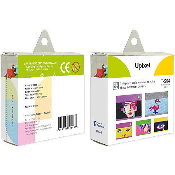 Комплект пикселей собери любую из 5 картинок Upixel, 480 штАксессуары для ранцев и рюкзаков<br>Характеристики:<br><br>• возраст: от 3 лет;<br>• материал: силикон;<br>• количество деталей: 480 шт. 7х7 мм, буклет с возможными вариантами изображений;<br>• размер изделия: 3х8,6х8,6 см;<br>• вес комплекта: 65 гр;<br>• страна бренда: Китай.<br><br>Комплект пикселей собери любую из 5 картинок Upixel состоит из подобранных картинок, это отличное решение на первое время при знакомстве с пиксельным творчеством.<br><br>Комплект пикселей собери любую из 5 картинок Upixel, 480 шт. можно приобрести в нашем интернет-магазине.<br>Ширина мм: 30; Глубина мм: 86; Высота мм: 86; Вес г: 65; Цвет: разноцветный; Возраст от месяцев: 60; Возраст до месяцев: 2147483647; Пол: Унисекс; Возраст: Детский; SKU: 8291388;