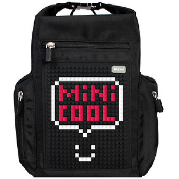 Пиксельный рюкзак Upixel «Black Rhino backpack», черныйРюкзаки<br>Характеристики:<br><br>? возраст: от 5 лет;<br>? тип: рюкзак;<br>? материал: 100% полиэстер;<br>? подкладка: 100% полиэстер;<br>? панель: 100% силикон;<br>? цвет: черный;<br>? пиксели: 120 шт, 7х7 мм;<br>? поверхность: 20 рядов, 26 линий;<br>? размер товара: 26х10х32 см;<br>? вес упаковки: 700 г;<br>? страна бренда: Китай.<br><br>Пиксельный рюкзак Upixel «Black Rhino backpack» (Юпиксел Блак Рино бекпак), обладающий силиконовой панелью, на которой с помощью «пикселей» в виде мозаики возможно выложить любой рисунок.<br><br>Представленный товар сертифицирован и создан из экологически чистых материалов. Качество же материала с его водонепроницаемым свойством позволит сохранить в целости содержимое при влажной, снежной погоде.<br><br>Рюкзак оснащён одним основным отделом на молнии, передним карманом на молнии и металлической застежкой (можно использовать в качестве ручки). Также, рюкзак вмещает в себя ноутбук диаметром до 11 дюймов или большой планшет.<br><br>Для  воплощения  своих  фантазий  можно  докупать  пиксельные  фишки  размера  7х7 мм  или  готовые  наборы  картинок  с  фишками аналогичного  размера.<br><br>Пиксельный рюкзак Upixel «Black Rhino backpack» (Юпиксел Блак Рино бекпак), черный можно купить в нашем интернет-магазине.