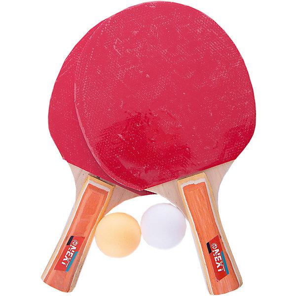Купить Набор для настольного тенниса Next, 4 предмета, -, Китай, черный/розовый, Унисекс