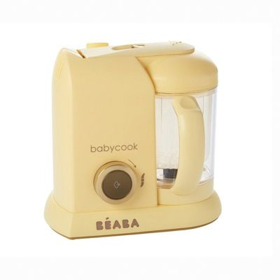 Блендер-пароварка Beaba  Babycook Macaron Vanilla , желтая, артикул:8298165 - Детская бытовая техника