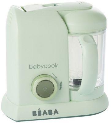 Блендер-пароварка Beaba  Babycook Macaron Vanilla , мятная, артикул:8298179 - Детская бытовая техника