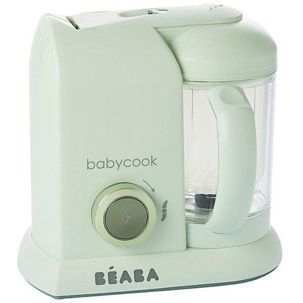 BÉABA Блендер-пароварка Beaba Babycook Macaron Vanilla, мятная филипс авент пароварка блендер 4 в 1 отзывы
