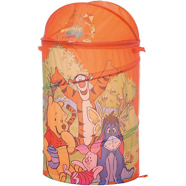 Играем вместе Корзина для игрушек Винни Disney 43х60 см корзина для игрушек disney микки маус и его друзья 2732136