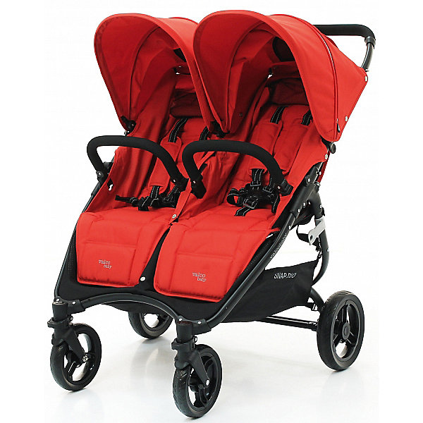Valco Baby Прогулочная коляска для двойни Valco baby Snap Duo / Fire red