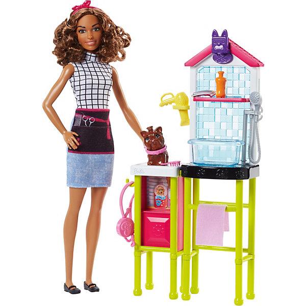 Mattel Игровой набор Barbie Профессии Салон для собак