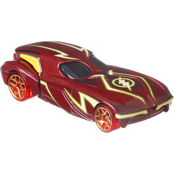 Машинка персонажа DC Hot Wheels Charaster Cars, ФлэшМашинки<br>Характеристики:<br><br>• возраст: от 3 лет;<br>• материал: пластик;<br>• масштаб: 1:64;<br>• вес упаковки: 61 гр.;<br>• размер упаковки: 16,7х13,9х4,5 см;<br>• страна бренда: США.<br><br>Машинка Hot Wheels выполнена в виде транспорта персонажа вселенной супергероев DC. Игрушка имеет оригинальный дизайн, отражающий образ героя. Кузов тщательно прорисован, окрашен в яркие насыщенные цвета.<br><br>Колеса машинки крутятся, она может быстро ехать по ровной поверхности. Подойдет для сюжетных игр с другими машинками серии и для коллекционирования. Сделано из качественных безопасных материалов.<br><br>Машинку персонажей DC, Hot Wheels можно купить в нашем интернет-магазине.<br>Ширина мм: 167; Глубина мм: 139; Высота мм: 45; Вес г: 61; Возраст от месяцев: 36; Возраст до месяцев: 6; Пол: Мужской; Возраст: Детский; SKU: 8300841;