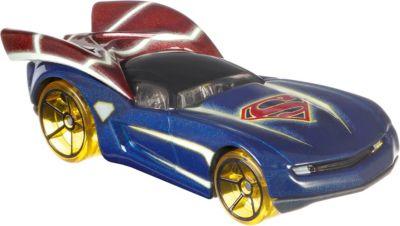 Машинка персонажа DC Hot Wheels  Charaster Cars , Супермен, артикул:8300845 - Игрушки для мальчиков