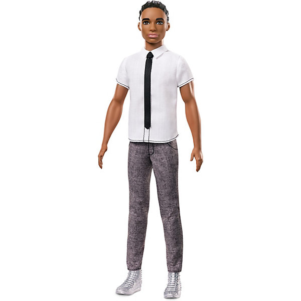 Mattel Кукла Кен Barbie Игра с модой В рубашке с галстуком, 29 см simple men s casual shoes with white and lace up design page 5