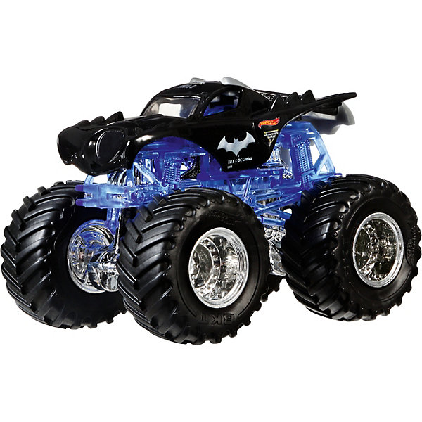 Mattel Машинка Hot Wheels Monster Jam, Бэтмен mattel машинка hot wheels monster jam бэтмен