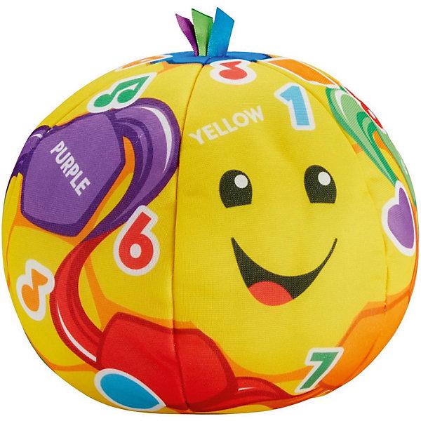Mattel Интерактивная игрушка Fisher Price Смейся и учись Футбольный мячик mattel интерактивная игрушка fisher price смейся и учись телефон учёного щенка