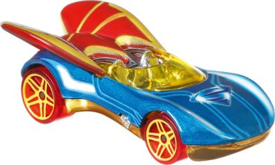 Машинка персонажа DC Hot Wheels  Charaster Cars , Супергерл, артикул:8300879 - Игрушки для мальчиков
