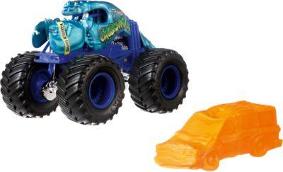 Базовая машинка Hot Wheels  Monster Jam  Crushstation, артикул:8300885 - Игрушки для мальчиков