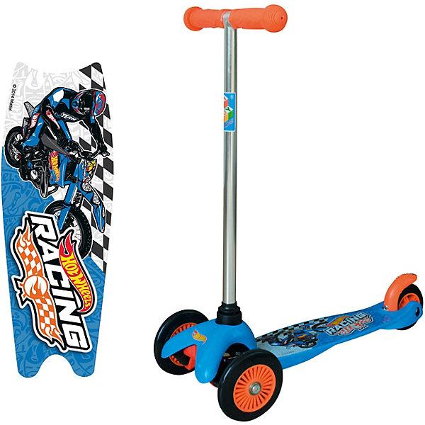 1Toy Трёхколёсный самокат 1Toy Hot Wheels, мульти 1toy самокат spider man