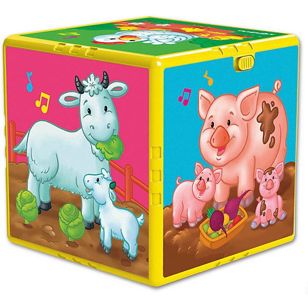 Азбукварик Говорящий кубик Азбукварик В гостях на ферме азбукварик игрушка азбукварик говорящий кубик в гостях на ферме
