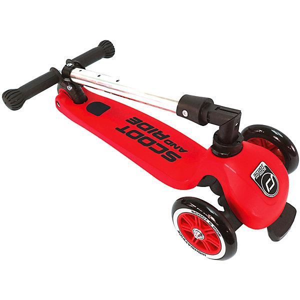 Купить Самокат Scoot&Ride «HighwayKick 3», красный, Австрия, Унисекс