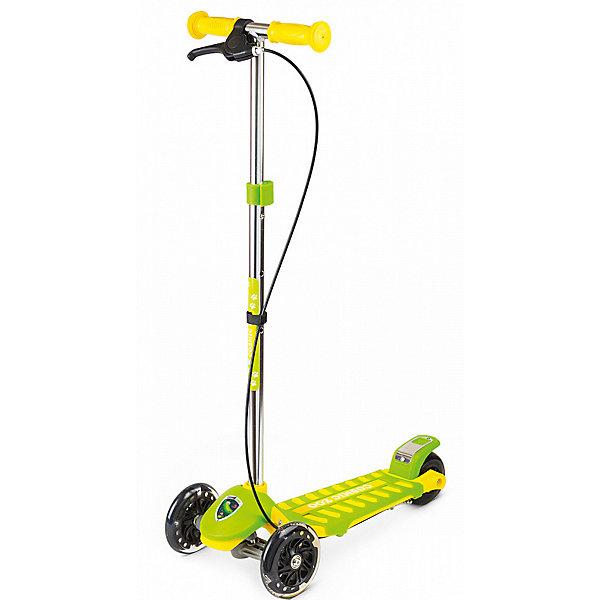 Купить Трехколесный самокат Small Rider «Galaxy» Cosmic Zoo, зелено-желтый, Китай, Унисекс