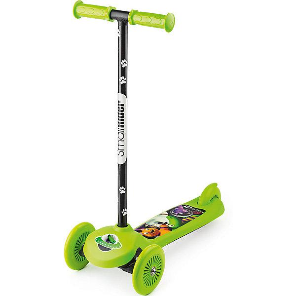 Купить Трехколесный самокат Small Rider Scooter Cosmic Zoo, зеленый, Китай, Унисекс