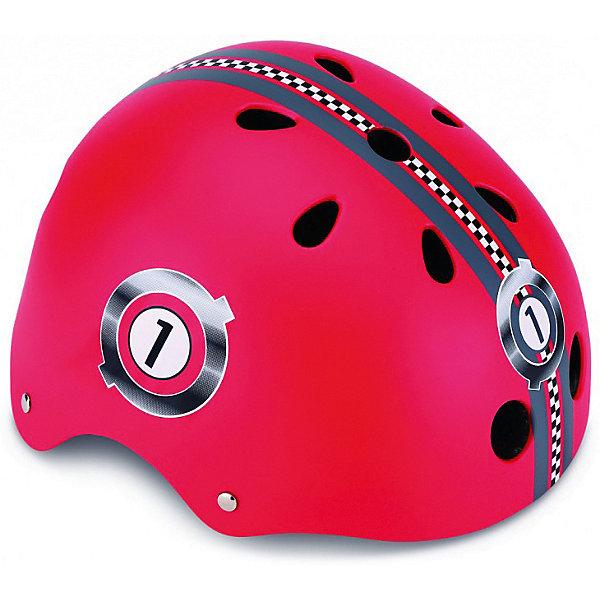 Шлем Globber «Printed Junior», красный