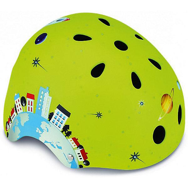 Купить Шлем Globber Printed Junior , зеленый, Китай, Мужской