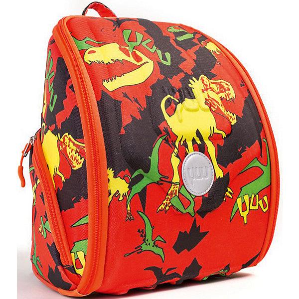 Ранец YUU GruurДетские рюкзаки<br>Характеристики:<br><br>• ранец YUUtuu - уменьшенная версия ранца YUU;<br>• ранец-органайзер для детей от 4 до 7 лет;<br>• более 10 карманов;<br>• прозрачные карманы для фото и рисунков;<br>• секретное отделение;<br>• верхняя панель-столик;<br>• ранец с наполнением: цветные карандаши, блокнот А4, магнитная игра «змеи и лестницы», свисток, пенал, карта клуба «YUUclub»;<br>• ортопедическая спинка;<br>• материал: корпус из формованной EVA пены, грязе- и водоотталкивающая ткань 600 D Гуччи нейлон;<br>• размер ранца: 30х28х18 см;<br>• вес: 790 г.<br><br>Функциональный ранец для малышей представлен в качестве органайзера. Огромное количество карманов позволяет распределить игрушки и канцелярские товары таким образом, чтобы все было на виду. Ортопедическая спинка ранца и эргономичный корпус с EVA оболочкой и поддержкой позвоночника распределяют вес равномерно вдоль спины. Комплект для развлечений YUUfun пригодится во время путешествий. Предусмотрено также крепление для ключей, свисток и визитка. <br><br>Ранец YUU «Gruur» можно купить в нашем интернет-магазине.<br>Ширина мм: 28; Глубина мм: 18; Высота мм: 30; Вес г: 1000; Цвет: оранжевый; Возраст от месяцев: 48; Возраст до месяцев: 84; Пол: Унисекс; Возраст: Детский; SKU: 8304938;