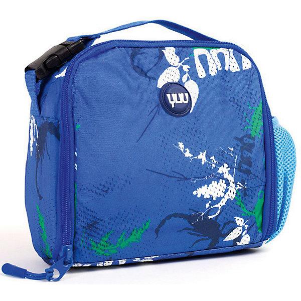 Cумка для обеда YUU BuuzШкольные сумки<br>Характеристики:<br><br>• термо-сумка для школьных обедов;<br>• специальные карманы для столовых приборов;<br>• дополнительный боковой карман-сеточка;<br>• крышка раскладывается и превращается в столик;<br>• возможность носить сумку для обедов на ранце Yuu;<br>• обратите внимание: бутылка в комплект не входит;<br>• материал: корпус из формованной EVA пены, грязе- и водоотталкивающая ткань 600 D Гуччи нейлон.<br><br>Сумка для обедов школьника отлично сочетается с рюкзаком YUU. Вместительная сумка для контейнера с едой и бутылочки оснащена дополнительынми кармашками для ложки и вилки, а также для кубиков льда. Сумку можно прикрепить на рюкзак. <br><br>Сумку для обеда YUU Buuz можно купить в нашем интернет-магазине.<br>Ширина мм: 22; Глубина мм: 7; Высота мм: 22; Вес г: 220; Цвет: синий; Возраст от месяцев: 48; Возраст до месяцев: 144; Пол: Унисекс; Возраст: Детский; SKU: 8304952;