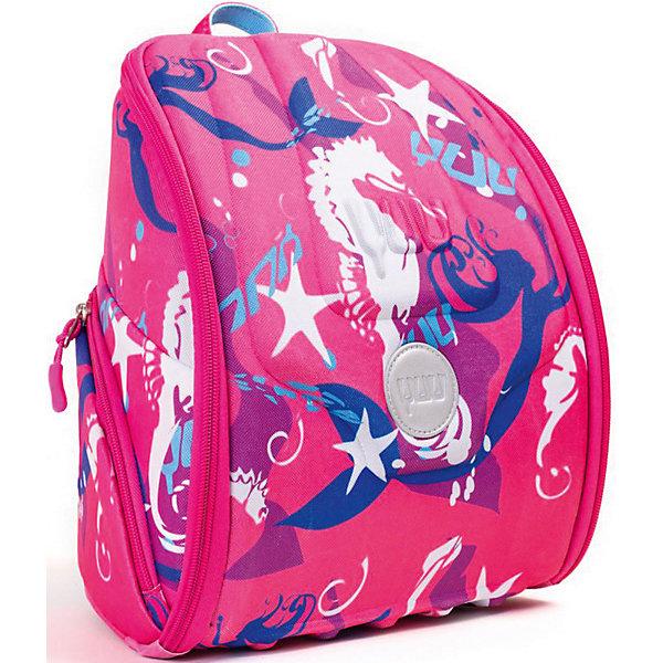 Ранец YUU SpluushДетские рюкзаки<br>Характеристики:<br><br>• ранец YUUtuu - уменьшенная версия ранца YUU;<br>• ранец-органайзер для детей от 4 до 7 лет;<br>• более 10 карманов;<br>• прозрачные карманы для фото и рисунков;<br>• секретное отделение;<br>• верхняя панель-столик;<br>• ранец с наполнением: цветные карандаши, блокнот А4, магнитная игра «змеи и лестницы», свисток, пенал, карта клуба «YUUclub»;<br>• ортопедическая спинка;<br>• материал: корпус из формованной EVA пены, грязе- и водоотталкивающая ткань 600 D Гуччи нейлон;<br>• размер ранца: 30х28х18 см;<br>• вес: 790 г.<br><br>Функциональный ранец для малышей представлен в качестве органайзера. Огромное количество карманов позволяет распределить игрушки и канцелярские товары таким образом, чтобы все было на виду. Ортопедическая спинка ранца и эргономичный корпус с EVA оболочкой и поддержкой позвоночника распределяют вес равномерно вдоль спины. Комплект для развлечений YUUfun пригодится во время путешествий. Предусмотрено также крепление для ключей, свисток и визитка. <br><br>Ранец YUU Spluush можно купить в нашем интернет-магазине.<br>Ширина мм: 28; Глубина мм: 18; Высота мм: 30; Вес г: 1000; Цвет: розовый/розовый; Возраст от месяцев: 48; Возраст до месяцев: 84; Пол: Женский; Возраст: Детский; SKU: 8304958;