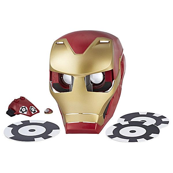 Интерактивная маска Avengers Мстители Железный человек, с дополненной реальностьюДругие наборы<br>Характеристики:<br><br>• возраст: от 8 лет;<br>• материал: пластик;<br>• в наборе: маска героя Iron Vision Iron Man, защитные очки, перчатка, 3 маркера, камень бесконечности, инструкция;<br>• совместимые с маской устройства: iOS 10, 11 (iPhone 6, iPhone 6s, iPhone7, iPhone8, iPhoneX), Android 7 (Google Pixel 1, Samsung S7, Samsung S7 edge);<br>• вес упаковки: 950 гр.;<br>• размер упаковки: 21,6х22,9х27,9 см;<br>• страна бренда: США.<br><br>Маска дополненной реальности Hasbro – игрушечная копия маски Железного человека из фильма «Мстители: Война бесконечности». Для начала игры нужно установить приложение Hero Vision на мобильное устройство, а после поместить его в специальный отсек в очках. Теперь маску можно надеть на голову и наблюдать за виртуальным миром глазами Железного человека.<br><br>Каждый камень бесконечности (продаются отдельно) открывает новый уровень в мобильном приложении. Маска крепится на голову с помощью регулируемого ремешка. Сделано из качественных безопасных материалов.<br><br>Маску дополненной реальности Hero Vision можно купить в нашем интернет-магазине.<br>Ширина мм: 216; Глубина мм: 229; Высота мм: 279; Вес г: 950; Возраст от месяцев: 96; Возраст до месяцев: 2147483647; Пол: Мужской; Возраст: Детский; SKU: 8306071;