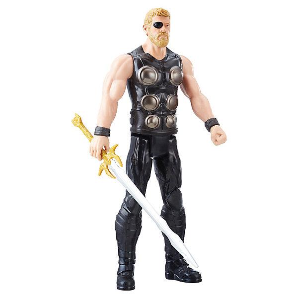 Hasbro Фигурка Avengers Мстители. Титаны класса А Тор, 30 см цена