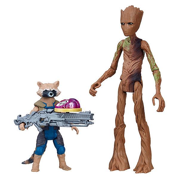 Фигурки Avengers Мстители и камни бесконечности Реактивный Енот и Грут, 15 смГерои комиксов<br>Характеристики:<br><br>• возраст: от 4 лет;<br>• материал: пластик;<br>• высота фигурки: Грут – 15 см, енот – 8 см;<br>• в наборе: 2 фигурки, аксессуар, камень бесконечности;<br>• вес упаковки: 250 гр.;<br>• размер упаковки: 5,1х19,1х21 см;<br>• страна бренда: США.<br><br>Набор фигурок Hasbro «Реактивный Енот и Грут» по фильму «Мстители: Война бесконечности» содержит точные копии персонажей с оружием и камень бесконечности. Внешний вид фигурок детально прорисован, лица повторяют выражения героев.<br><br>Части тела игрушек подвижны. Фигурки подходят для сюжетных игр и станут ценной частью коллекции предметов по фильму. Сделано из качественных безопасных материалов.<br><br>Фигурки Реактивного Енота и Грута «Мстители» Делюкс и камни бесконечности, 15 см можно купить в нашем интернет-магазине.<br>Ширина мм: 51; Глубина мм: 191; Высота мм: 210; Вес г: 250; Возраст от месяцев: 48; Возраст до месяцев: 2147483647; Пол: Мужской; Возраст: Детский; SKU: 8306077;