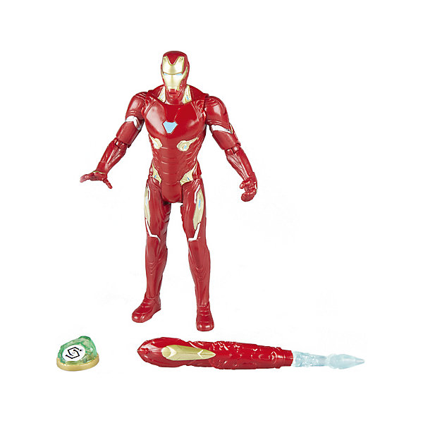 Фигурка Avengers Мстители и камни бесконечности Железный человек, 15 смГерои комиксов<br>Характеристики:<br><br>• возраст: от 4 лет;<br>• материал: пластик;<br>• высота фигурки: 15 см;<br>• в наборе: фигурка, аксессуар, камень бесконечности;<br>• вес упаковки: 250 гр.;<br>• размер упаковки: 5,1х19,1х21 см;<br>• страна бренда: США.<br><br>Фигурка Hasbro «Железный человек» создана по фильму «Мстители: Война бесконечности». Набор содержит точную копию персонажа с оружием и камень бесконечности. Внешний вид фигурки детально прорисован, костюм повторяет образ героя.<br><br>Части тела игрушки подвижны. Фигурка подходит для сюжетных игр и станет ценной частью коллекции предметов по фильму. Сделано из качественных безопасных материалов.<br><br>Фигурку Железного человека «Мстители» Делюкс и камень бесконечности, 15 см можно купить в нашем интернет-магазине.<br>Ширина мм: 38; Глубина мм: 165; Высота мм: 210; Вес г: 220; Возраст от месяцев: 48; Возраст до месяцев: 2147483647; Пол: Мужской; Возраст: Детский; SKU: 8306105;