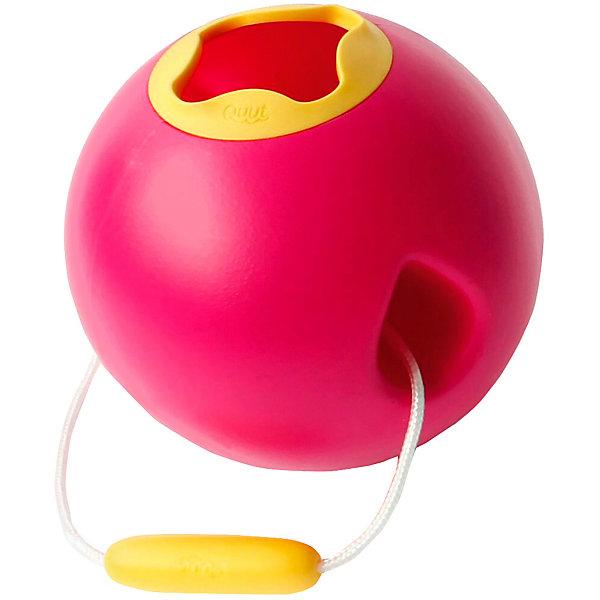 Quut Ведёрко для воды Quut Ballo, розовая Калипсо и спелый жёлтый игрушка для песка и снега quut triplet цвет жёлтый mellow yellow 170037